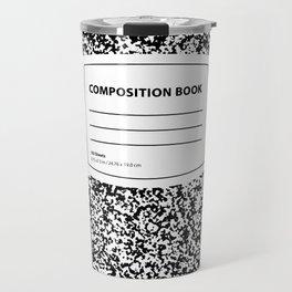Composition Book Travel Mug