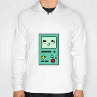bmo Hoodies featuring BMO by Janice Wong