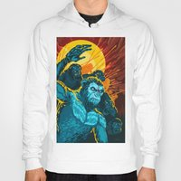 planet of the apes Hoodies featuring Dawn Of The Planet Of The Apes by KD Artwork