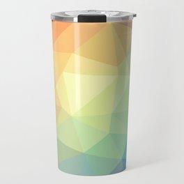 LOWPOLY RAINBOW Travel Mug