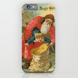 A Happy Christmas... iPhone Case