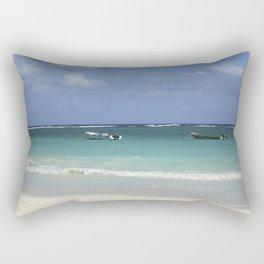 Carribean sea 12 Rectangular Pillow