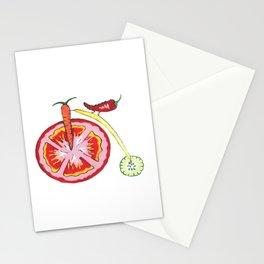 Veggie Bike Stationery Cards