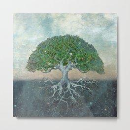 Gaia Tree of Life Metal Print