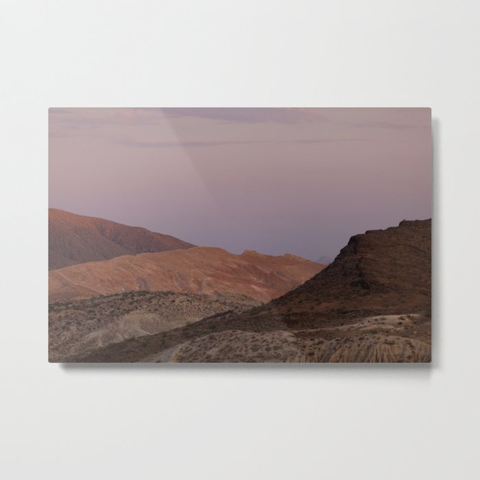Last Light I (Red Rock Canyon State Park, California) Metal Print
