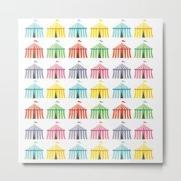 colourful circus tents Metal Print