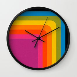 Retro Camera Wall Clock