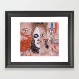 Of Life and Death Framed Art Print