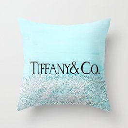 T - TIFFANY & CO Throw Pillow