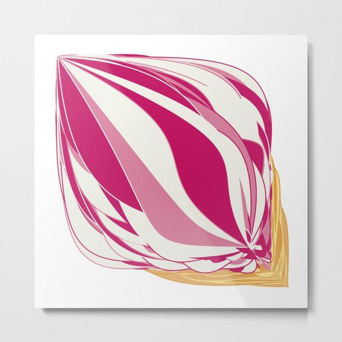 Strawberry Icecream Metal Print