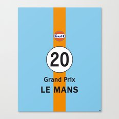Steve McQueen - Le Mans Grand Prix variation iPhone 4 5 6, ipod, ipad case Samsung Galaxy Canvas Print