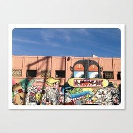Street Things  Canvas Print