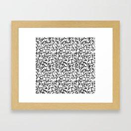Truss Framed Art Print