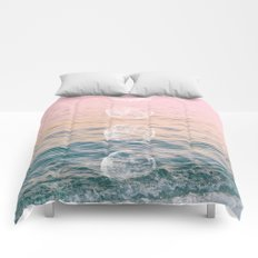 Moontime on the Beach Comforters