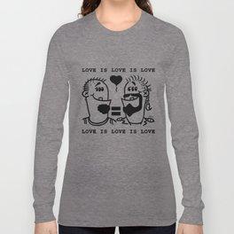 Equali-Tees: Man's Men Long Sleeve T-shirt