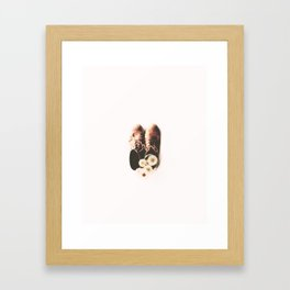 do small things with much love Framed Art Print