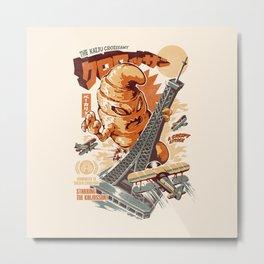 The Kaijussant Metal Print