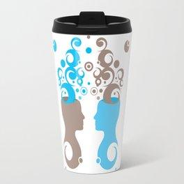 Exchanging Ideas Travel Mug