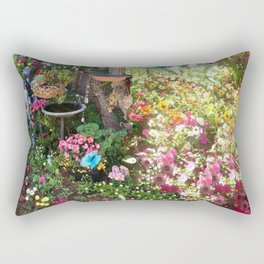 Glorious Garden Photos by Nancy Sharp Rectangular Pillow