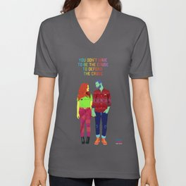 You don't have to be the cause Unisex V-Neck
