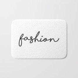 Fashion Prints, Fashion Wall Art, Teen Room, Saloon Sign, Affiche Scandinave, Fashion Typography Bath Mat