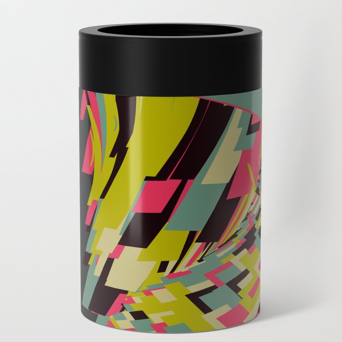 Abstract Wave Can Cooler