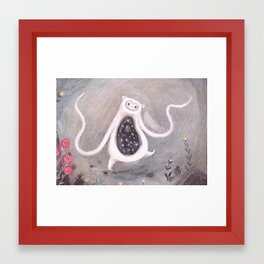 Strabelly Dancing Framed Art Print