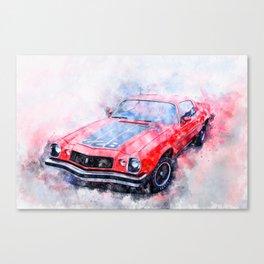 1974 Z28 Canvas Print