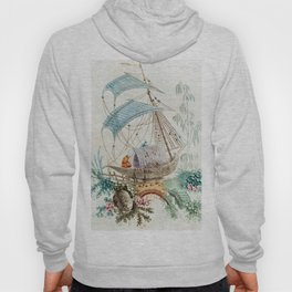 Chinoiserie Embroidery Hoody
