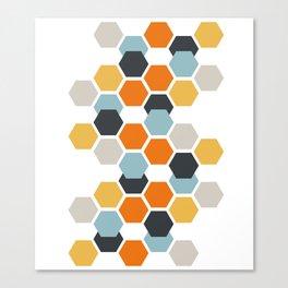 Sam (White) Canvas Print