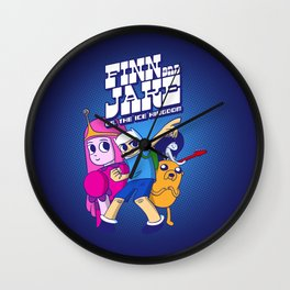 FJ vs IK Wall Clock