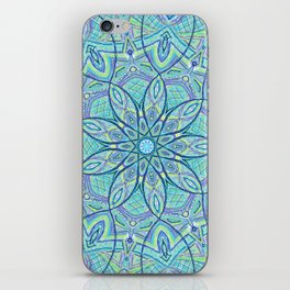 Heart of the Forest - Mandala Design iPhone Skin