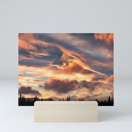 Good Morning Anchorage, Alaska Mini Art Print