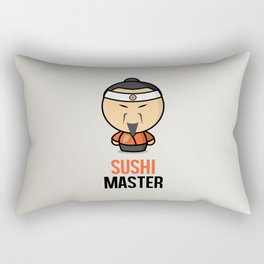 Sushi Master Rectangular Pillow