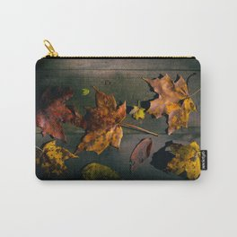 Fall Season in its many Shades. Carry-All Pouch