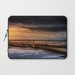 Whitby Harbour Laptop Sleeve