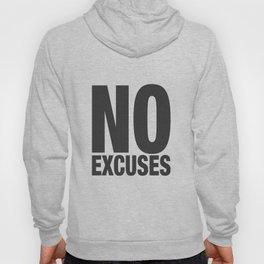 No Excuses - Gray Hoody