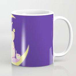 Kawaii fantasy animals - Moon Rabbit Coffee Mug