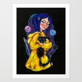 Coraline Art Print