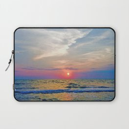Naples Florida sunset on the Gulf of Mexico Laptop Sleeve