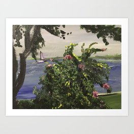 Southport Waterfront Art Print