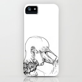Keep Calm And Tear Your Face Off iPhone Case