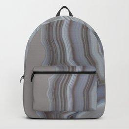 Neutral tones agate Backpack