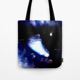 Blue Eyed Confusion Tote Bag