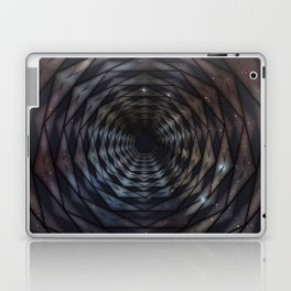 Heptagon space portal - high speed Laptop & iPad Skin