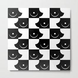 Streapchess_02 | Black and White  Metal Print