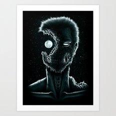 Eye of the Living Dead Art Print