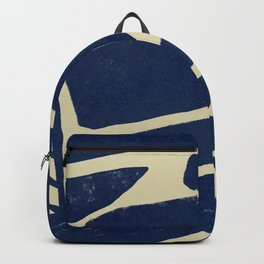Strong shapes on simple background #640 Backpack