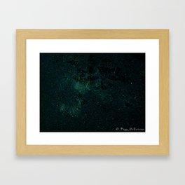 Stars or Shattered Glass? Framed Art Print