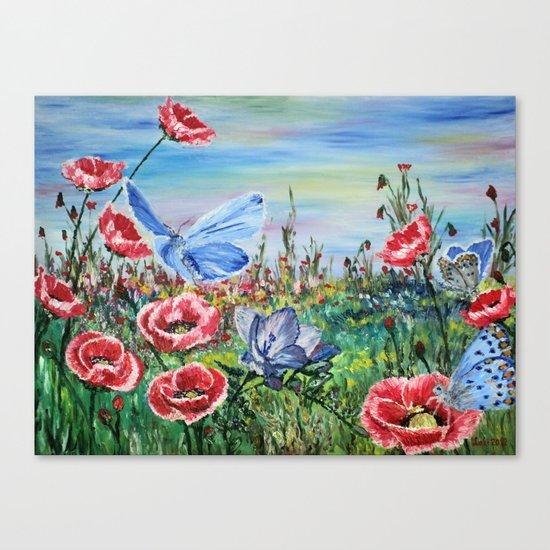 Waltzer Canvas Print